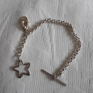 Bracelet with the cute slipper charm